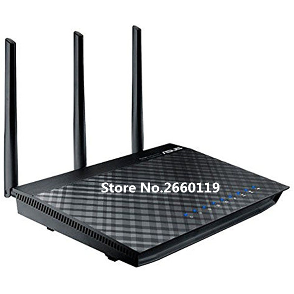 For ASUS RT-AC66R 1750M Dual-band Gigabit wireless WIFI router working well цена и фото