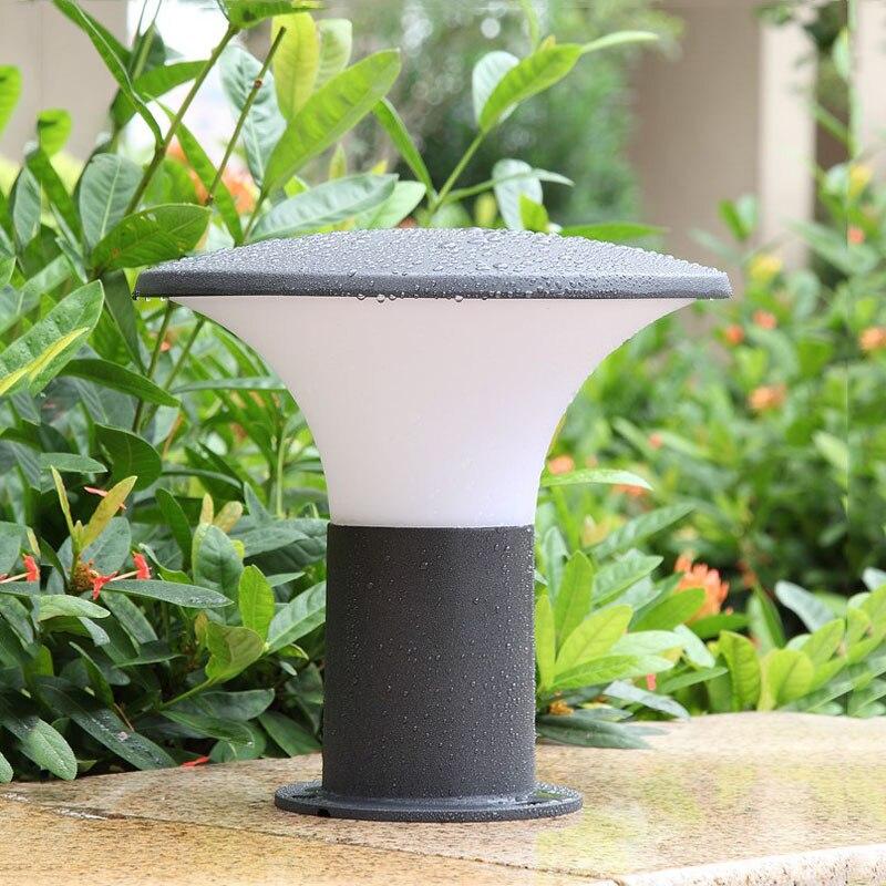 Nouveaux produits à vendre en plein air colonne phares, étanche porte lampadaires, porte pilier phares