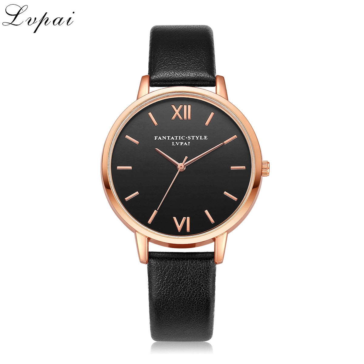 2018 Rose Gold Women Watches Lvpai Brand Leather Watch Luxury Classic Wrist Watch Fashion Casual Simple Quartz Wristwatch Clock цена и фото