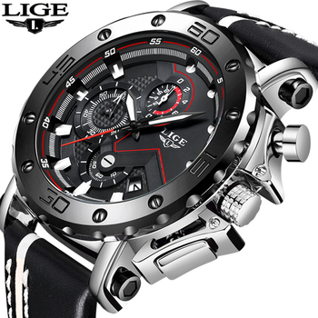 LIGE Hot Mens Watches Top Brand Gift Luxury Men Military Sport Watch Men's Waterproof Quartz Watch Male Clock Relogio Masculino 2018 mens watches top brand luxury lige watch men fashion sport quartz watch me s military watch clock relogio masculino gift