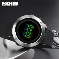 Fashion Top Luxury Brand Smart Watch OLED Display Pedometer Calorie Compass Waterproof Digital Watch SKMEI Sports Watches