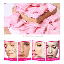 20pc Compressed Face Mask Paper Disposable Facial Masks Papers Natural Skin Care Wrapped Masks DIY Women Makeup Face Beauty Tool