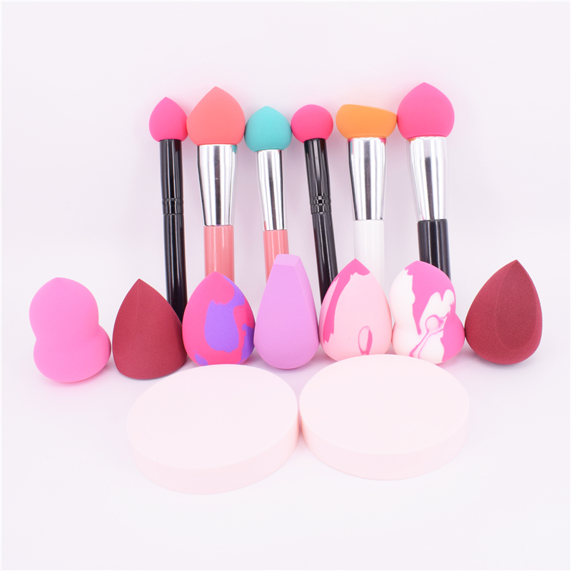 Sponge Cosmetic Puff for Your Face Beauty Care Make-up Tools Accessories Dry and Wet Both Available Puff Pen