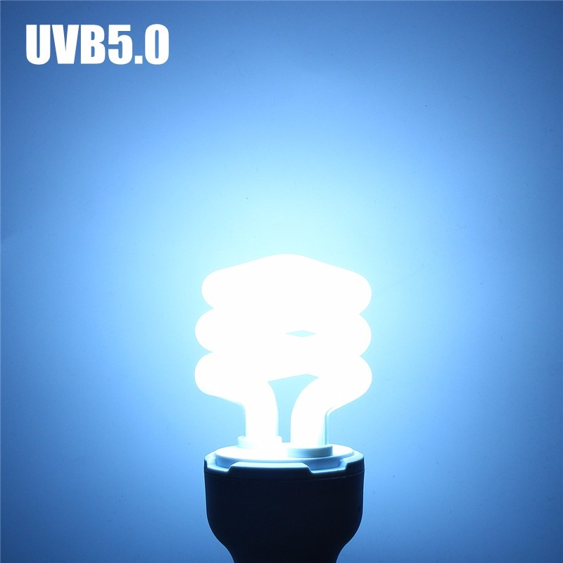 Lowest Price UVB5.0/UVB10.0 13W Compact Light Fluorescent Desert Terrarium Reptile Lamp Bulb 110-240V