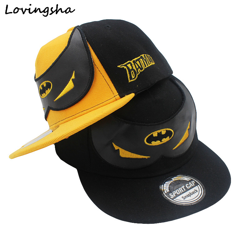 dc7a2f62b76 Bat Mask Children s Snapback Cap ...