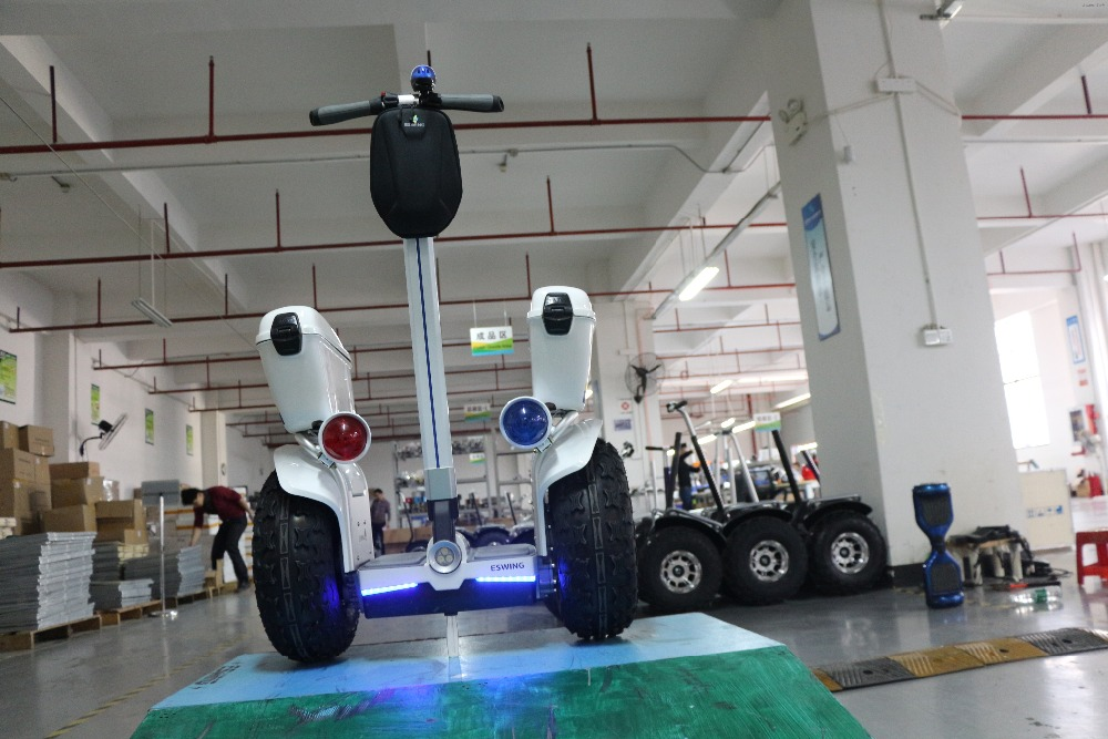 No Tax Self Balance Scooters Leg Control Cross Country 2 Wheel 2400W 19inch Electric Scooter 72V Samsung Battery Hoverboard  (150)