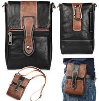 Holster Man Shoulder Belt Clip Mobile Phone Leather Case For Xiaomi Mi Max Mi Max 2