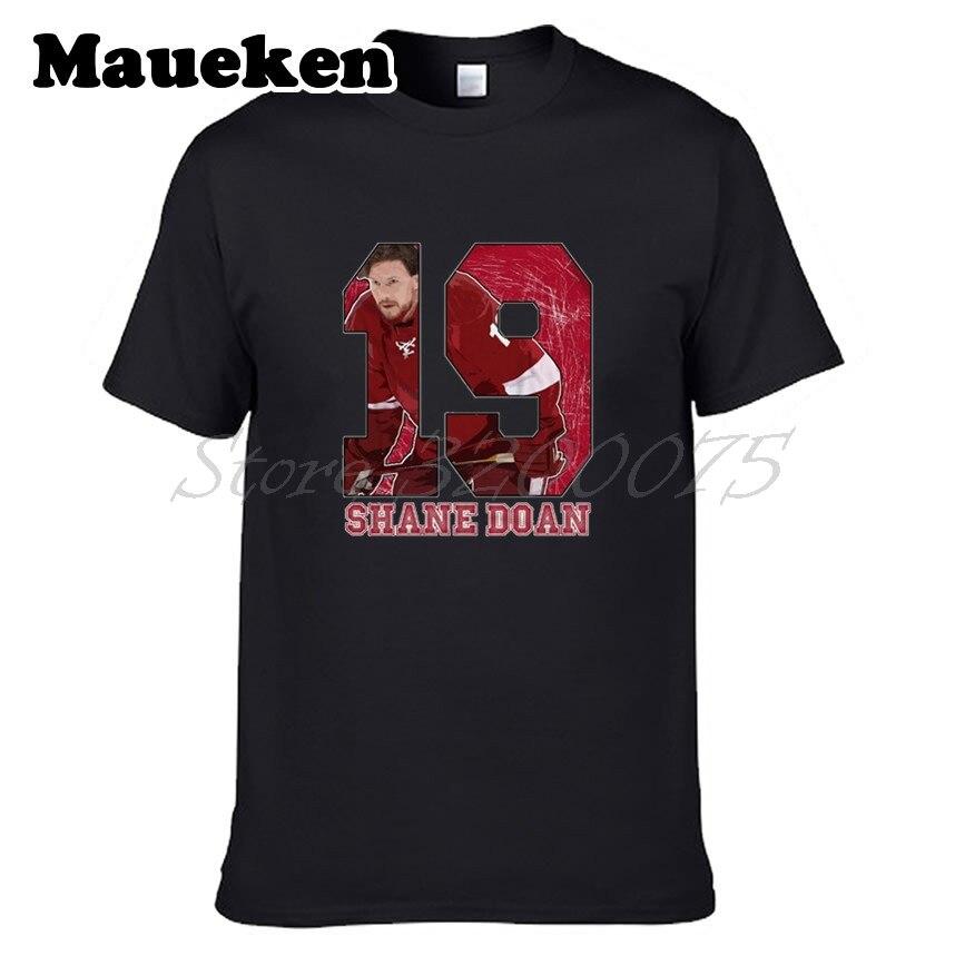 Men Shane Doan 19 Arizona Legend Captain T-shirt Clothes Short Sleeve COYOTES T SHIRT Mens Fashion W0214007