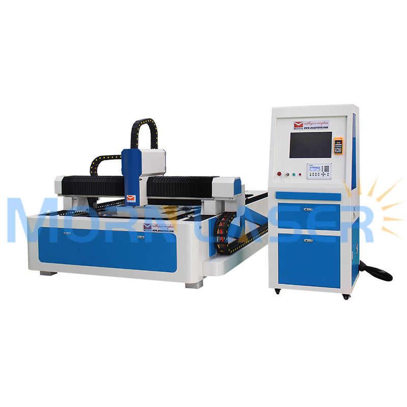 300W 500W 1KW fiber laser cutting machine 1mm 2mm 3mm steel