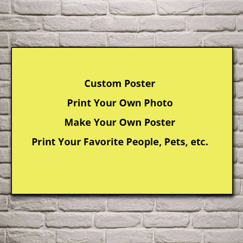 Print your own picture photo pets favorite people fine fabric living room home modern art decor wood frame fabric custom poster