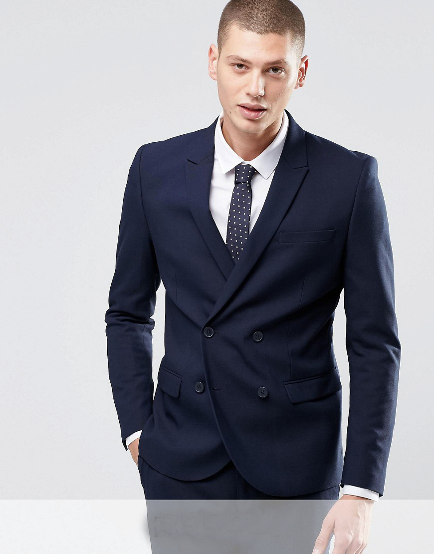 Aliexpress.com : Buy 2017 Tailored Made Double Breasted Groom ...