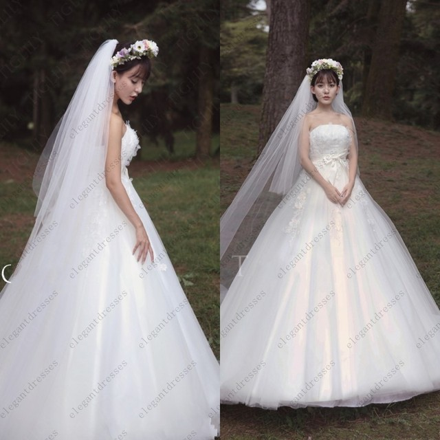 Neue berühmte Design Japan und koreanischen Stil Ballkleid Hochzeit ...
