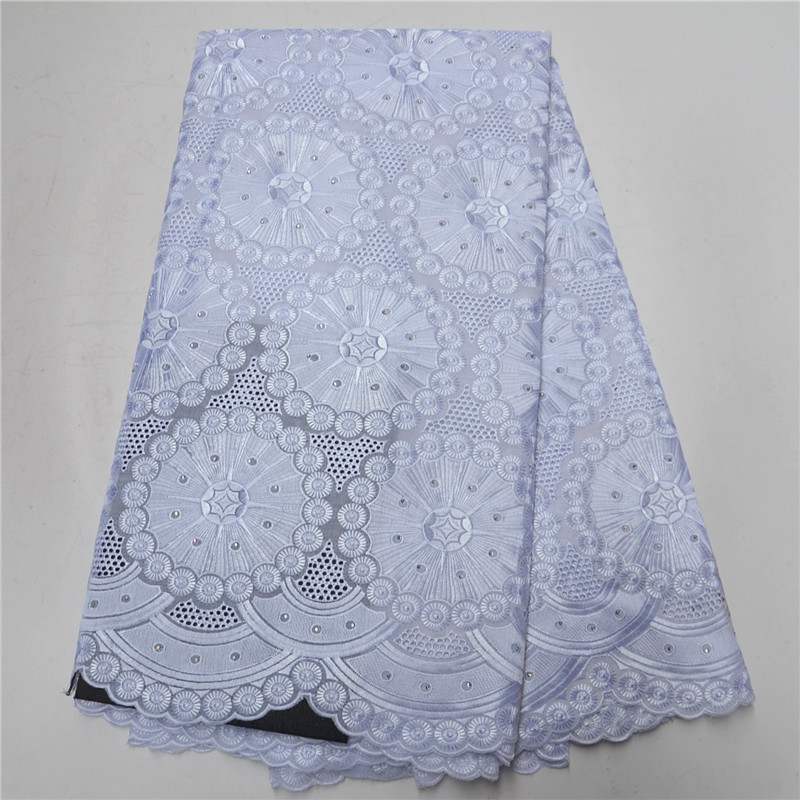 2019 Latest handcut Lace Fabrics High Quality Nigerian Organza Lace Fabric 2019 Fashion French Mesh Material