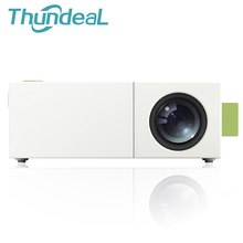 Thundeal YG300 до YG310 мини Портативный светодиодный проектор для домашнего кинотеатра proyector плеер с SD HDMI USB Встроенный Батарея