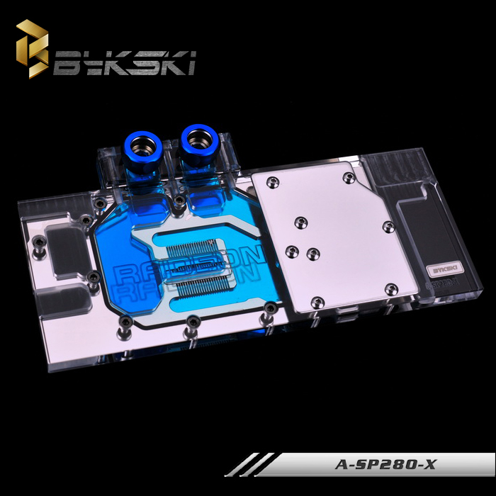 Bykski A-SP280-X for Sapphire R9 280X 7970 VXOC VGA Water Cooling Block цена