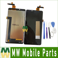 High Quality 1PC Lot For Highscreen Omega Prime XL LCD Display Touch Screen Assembly Digitizer With