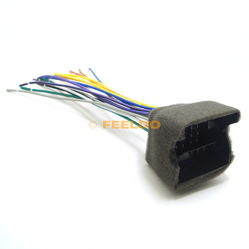 stereo wiring harness adapter promotion shop for promotional Aftermarket Stereo Wiring Harness Adapters 70pcs car cd player radio audio stereo wiring harness adapter plug for audi bwm volkswagen mini dodge aftermarket cd dvd stereo aftermarket stereo wiring harness adapters
