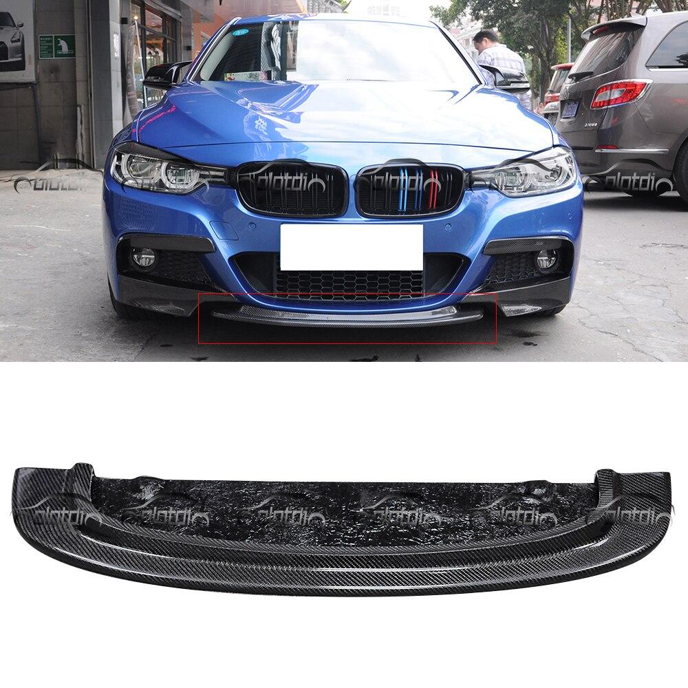 CRT Style Front Lip Bumper Spoiler Bottom Splitter for BMW F30 M-Tech  OLOTDI Car Styling