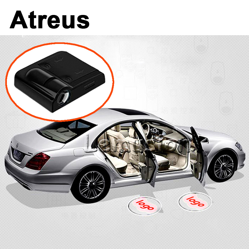 Atreus Car Accessories For Mini Cooper Honda CRV Accord Fit Civic Nissan Qashqai Juke Tiida Almera X-Trail Door Welcome Light