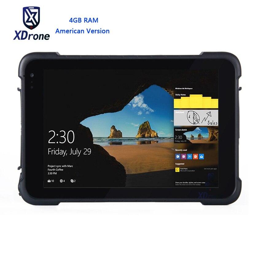 2018 K86H Windows 10 4G Tablet 4G B Оперативная память водонепроницаемый планшетный ПК Противоударный открытый мобильный компьютер Высокая точность груз