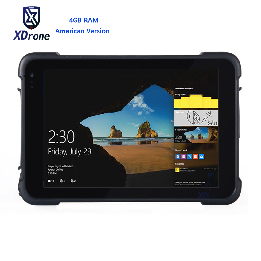 2018 K86H Windows 10 4G Tablet 4GB RAM Waterproof Tablet PC Shockproof Outdoor Mobile Computer High Precision Truck GPS GNSS RTK