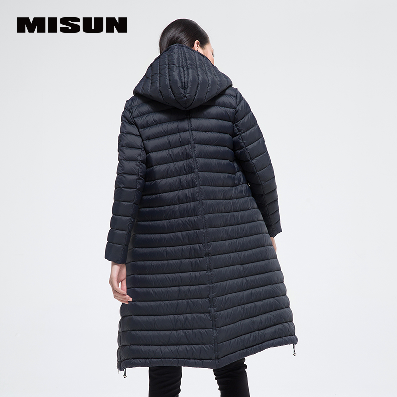 Aliexpress.com : Buy 2017 spring misun thin down coat long ...