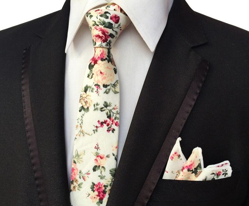 Erkekler için yeni erkek moda bağları kravat seti takım cep kare - Elbise aksesuarları - Fotoğraf 3