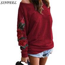 цена на 5xl Autumn Harajuku Hooeded Sweatshirt Women Elegant Floral Embroidery Hoodies Long Sleeve Hollow Out Sweatshirt Plus Size