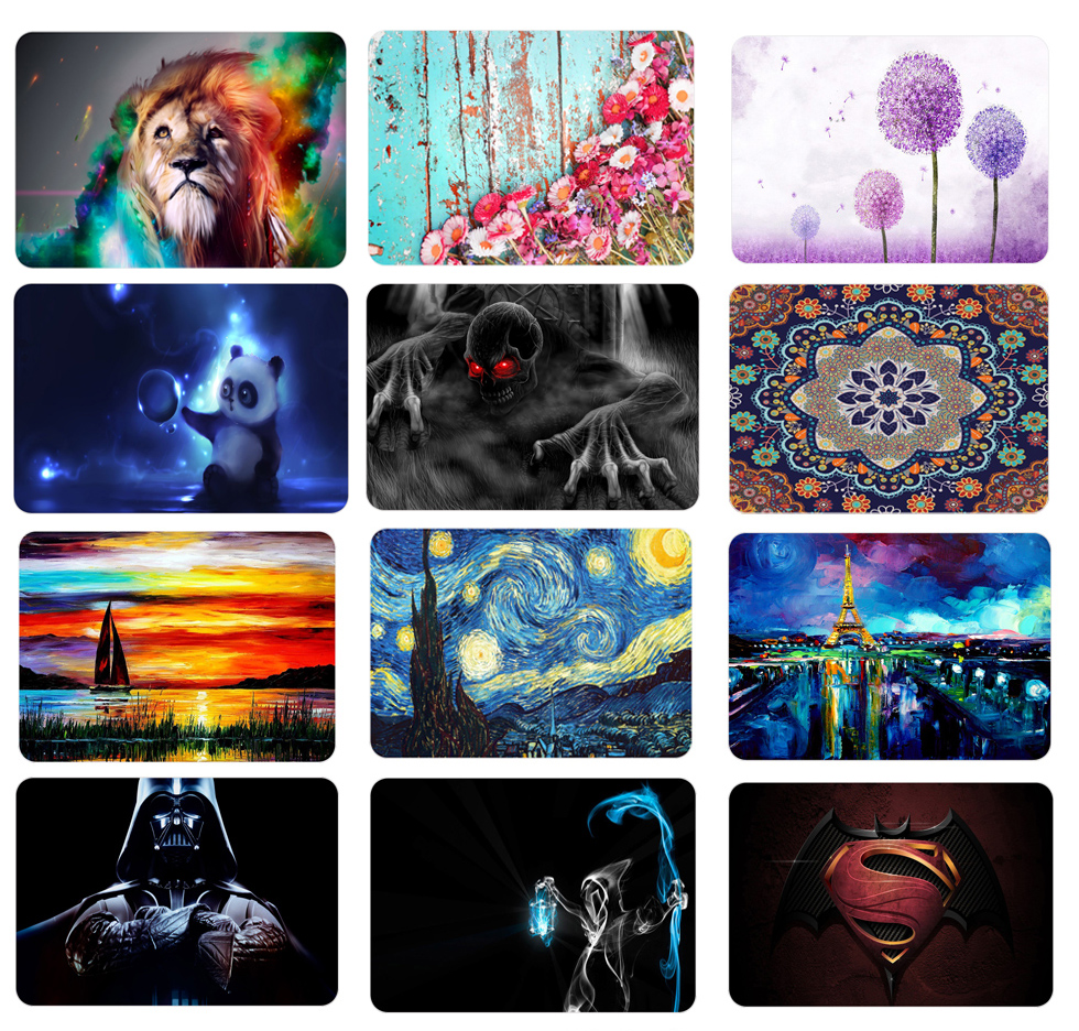 New Print Pattern Hard Case Cover Sleeve For MacBook Air