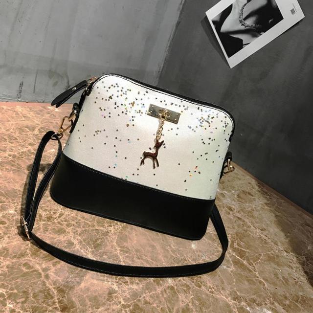d4f6aa8c1ae Women s New fashion elegance leather stitching handbag shoulder bag  messenger bag handbag  Y