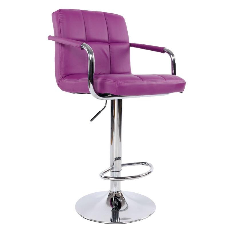 Swivel Lifting Bar Chair Rotating Adjustable Bar Stool Chair Stainless Steel Stent Armrest Footrest Tabouret De Bar