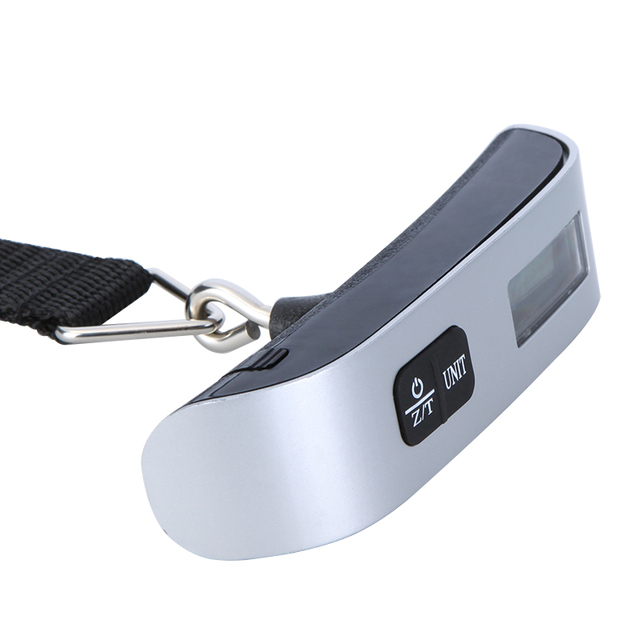 50kg*10g Pocket Electronic Portable Scale Hanging Fish Digital Scale Luggage Travel Bag Weight scale Balance scales W/ Strap 4