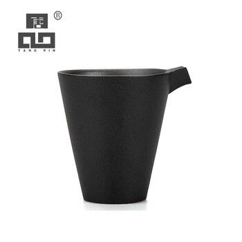TANGPIN chinese ceramic tea pitchers handmade tea infusers chahai gongdaobei kung fu tea accessories tangpin copper tea strainers handmade copper tea filters kung fu tea accessories