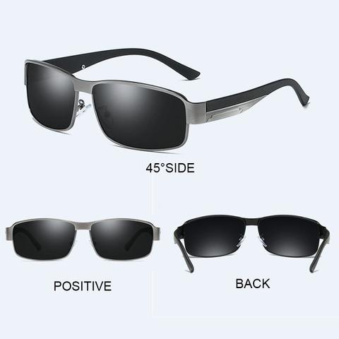 SIMPRECT 2019 Photochromic Square Sunglasses Men Polarized UV400 Sun Glasses For Driving Fashion Retro Sunglasses Vintage Oculos Multan