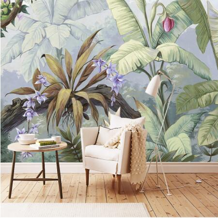 European Style Pastoral Rain Forest 3D Mural Wallpaper Living Room Bedroom Gallery Restaurant Backdrop Wall Papers For Walls 3 D