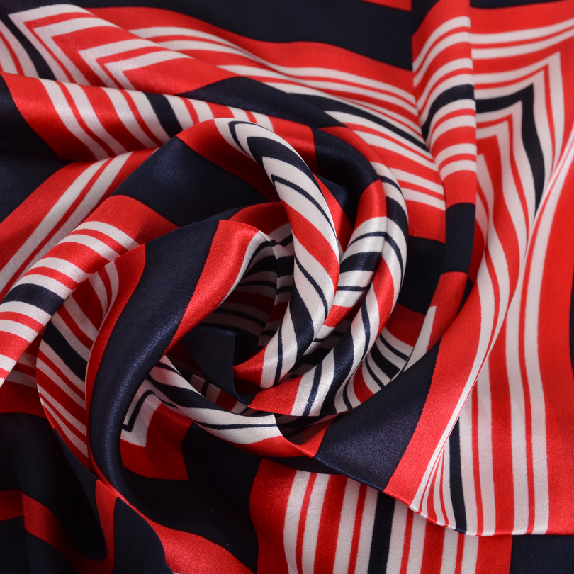 e9629e46b36b  BYSIFA  Petit Foulard De Soie Accessoires De Mode Rouge Bleu 100% Soie Du  Mûrier Écharpe 53 53 cm Marque Carré foulards Poignet Bande Bandeau dans  Foulards ...