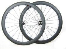 Ultra light weight 1380g titanium carbon fiber road wheel 50mm clincher 23mm width 700C 11 speed