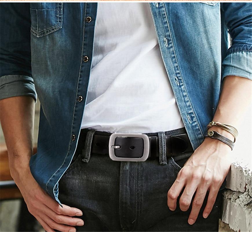 SAN VITALE Νέες ζώνες ανδρών σχεδιαστής 100% - Αξεσουάρ ένδυσης - Φωτογραφία 2