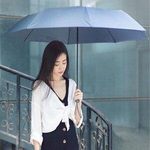 Image 2 - 90 분 우산 방수 안티 uv 특대 강화 우산 세 접는 보호 맑은 비가 우산 H15
