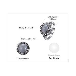 Image 5 - Jewelrypalace Винтаж 1.8ct натуральная Лабрадорит резные Solitaire палец кольцо стерлингового серебра 925 Элитный бренд хороший Красивые ювелирные изделия