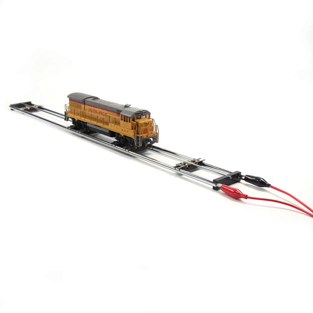HP1387 1 lot Model Railway HO Scale 1:87 E-Z Riders Standard Track Roller Test Stand with 6 Trolleys Model Trains
