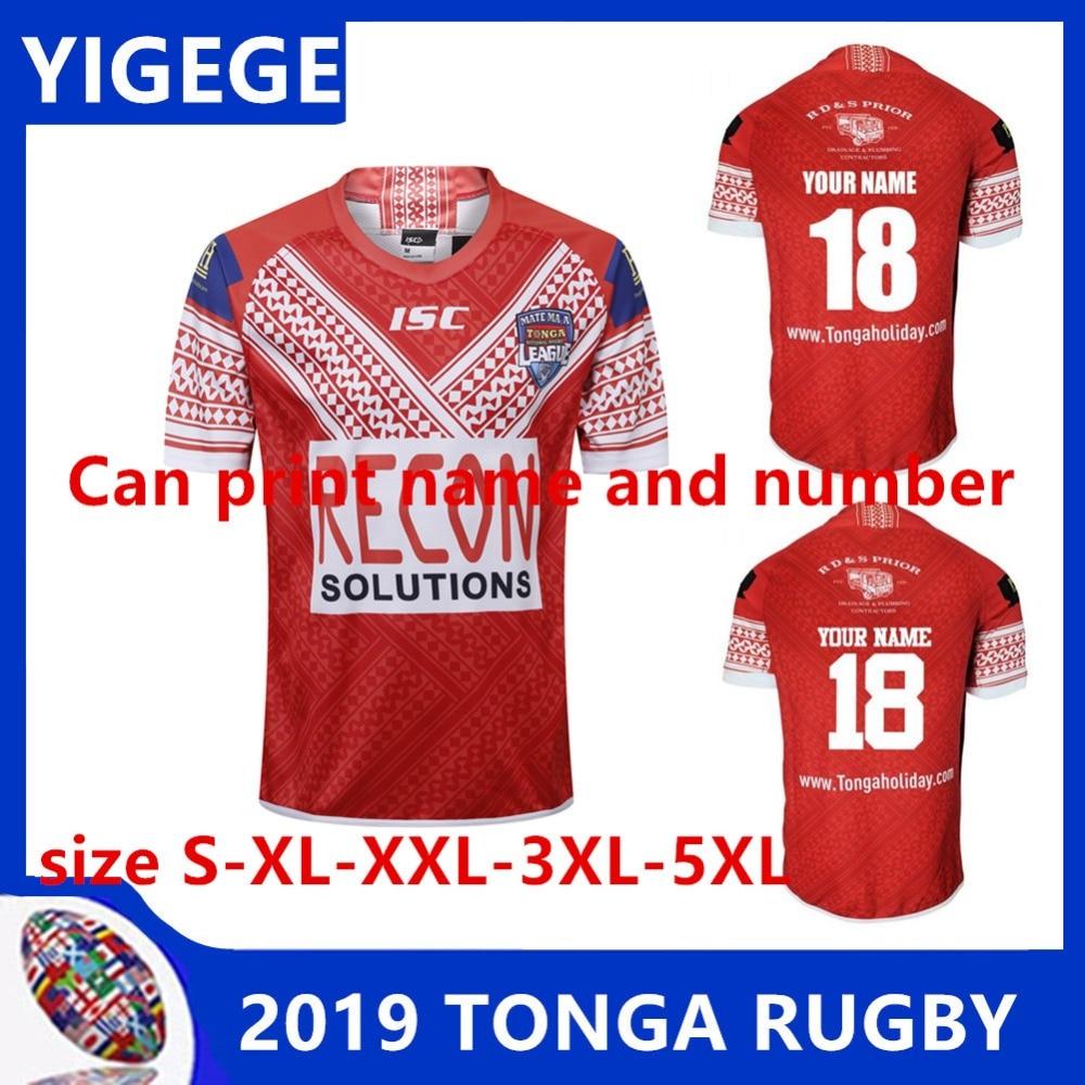 4a77139ec68 YIGEGE 2018 MATE MA A TONGA JERSEY 2019 Tonga Rugby Jerseys Shirt Football  Shirt