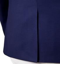 custom made Worsted Wool mes suits Slim purple business suits men's three-piece groom wedding dress TNGQ03