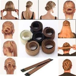 6 Цвета DIY аксессуары для парикмахерских инструментов синтетический парик пончики бутон руководитель группы мяч французский Твист