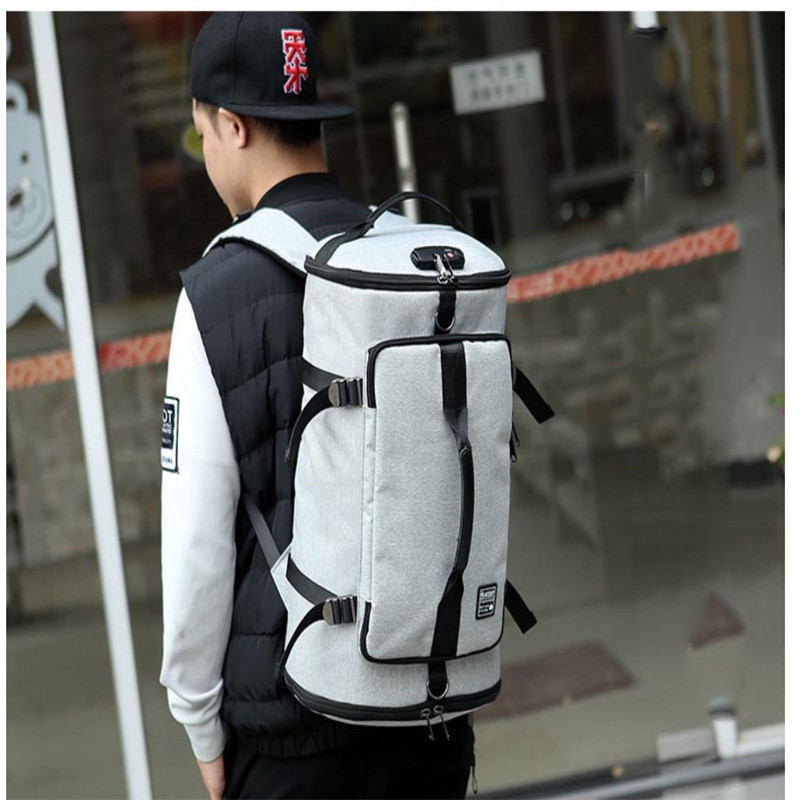 Sport-Bags Backpack Laptop Travel Anti-Theft Fitness Large Women Outdoor USB for 17inch