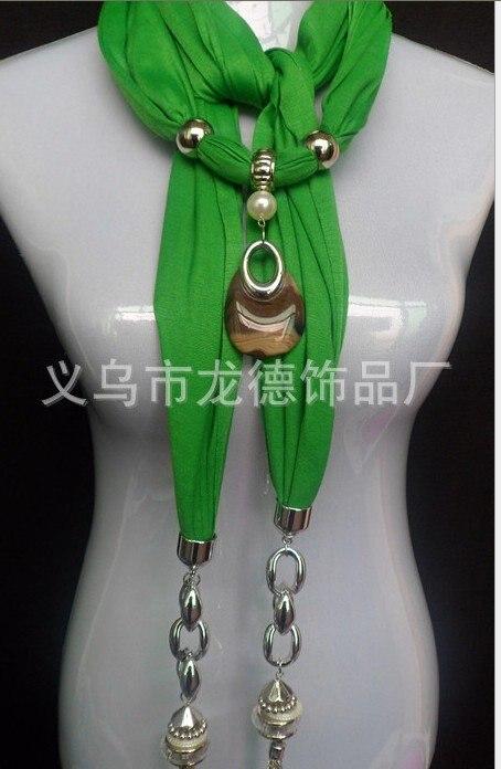 Бесплатная 2018 украшают статью шарф Оптовая yakeli ожерелье, кулон шарф 50 шт.