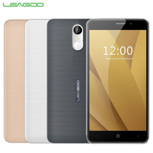 Ursprüngliche Leagoo M5 Plus 4G Handy RAM 2 GB ROM 16 GB MT6737 Quad Core 5,5 zoll 2500 mAh Android 6.0 Fingerprint ID Smartphone
