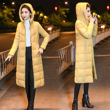 womens Winter Jackets Hooded Stand Collar Cotton Padded Female Coat Women Long Parka Warm Thicken Plus Size 4XL 5XL 6XL