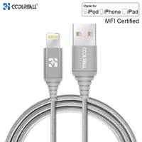 Coolreall MFi Lightning USB Cable For iPhone X 8 7 6S 6 Plus 5S SE 5 Fast Charging For iPhone Charger Cable Mobile Phone Cables|Mobile Phone Cables|Cellphones & Telecommunications -