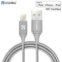 Coolreall MFi Lightning USB кабель для iPhone X 8 7 6 s 6 Plus 5S SE 5 Быстрая зарядка зарядное устройство для iPhone кабель кабели мобильных телефонов